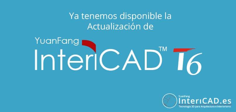 Actualización InteriCAD T6