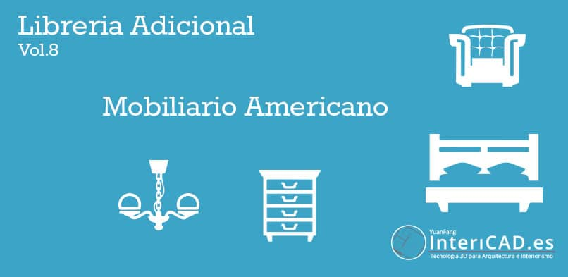 Librerías InteriCAD T6 - Lib Adicional 8