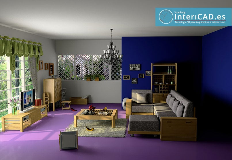 Render de InteriCAD T6