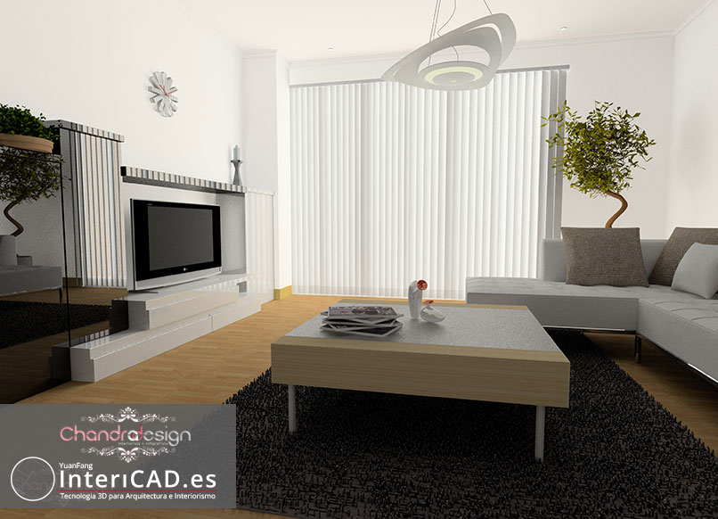 Diseño creado por Chandra Design usando InteriCAD T6