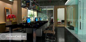 Oficina Creada en InteriCAD T6