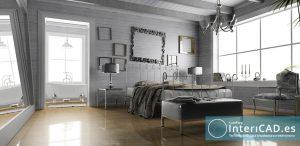 Dormitorio Creado en InteriCAD T6