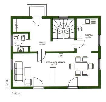 La imagen en la decoraci n intericad t6 for Pianta di una casa
