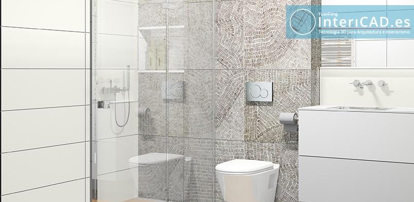 Baño creado por Ainhoa Sarasola
