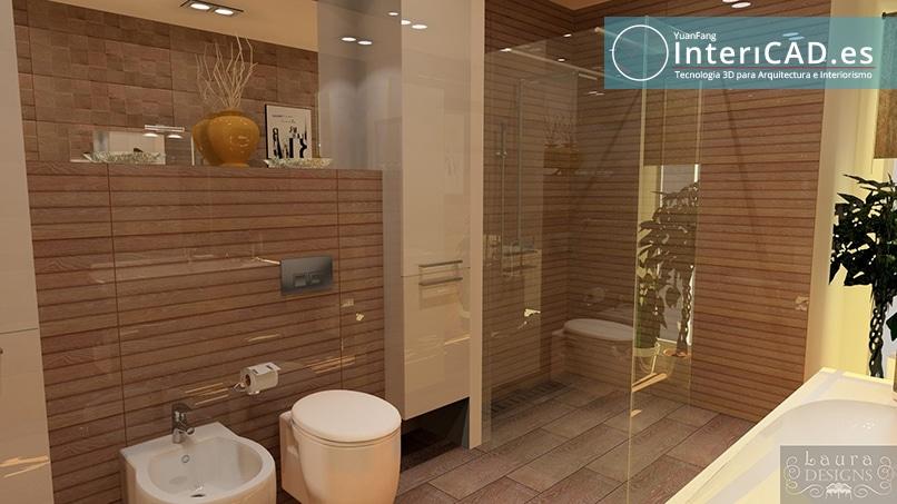 Baño creado por Laura Design