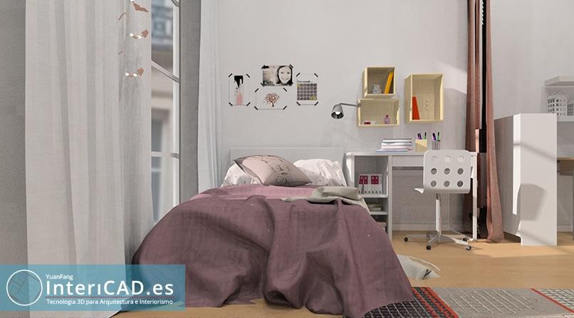 Dormitorio Juvenil creado por Inmaculada Valero