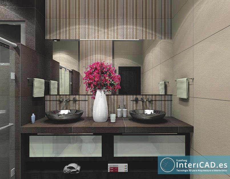 Un baño creado con Ceramic King