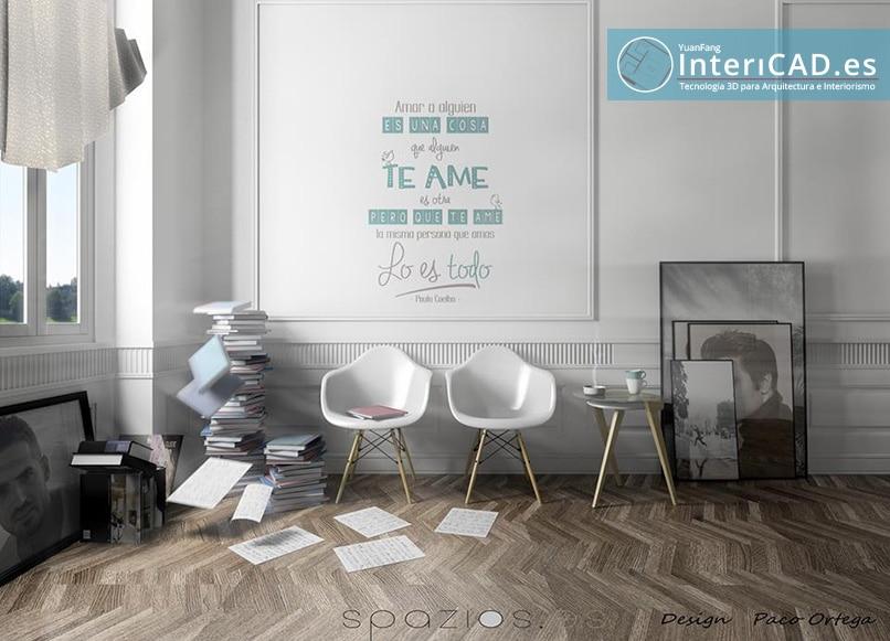 proyecto de decoración con Software de Interiorismo InteriCAD T6