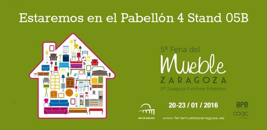 ¡Nos vemos en la 5ª Feria del mueble de Zaragoza!