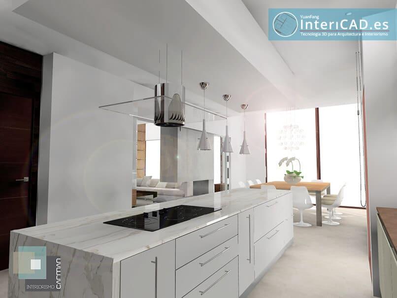 Creado con el software de interiorismo InteriCAD T6