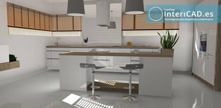 Programa de Decoración de Interiores – 3 Cocinas
