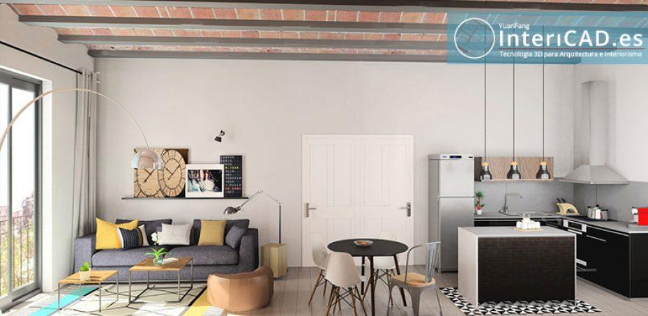 Programa para decoración de Interiores con realidad virtual