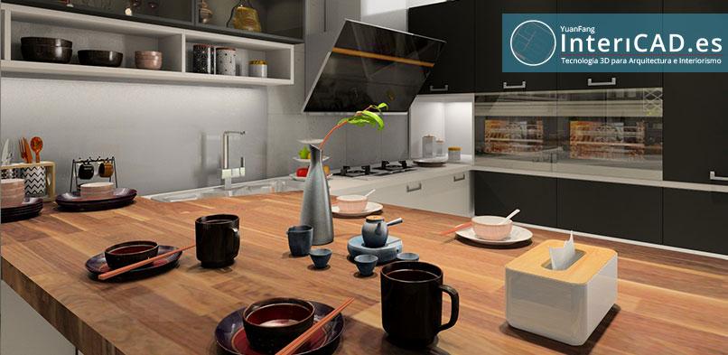 Cocina Moderna con Realidad Virtual 360º