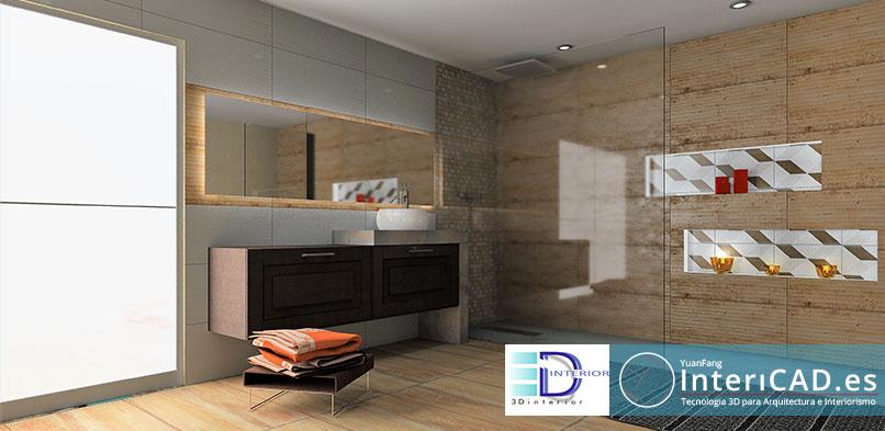 Baño creada por Javier de 3D Interior