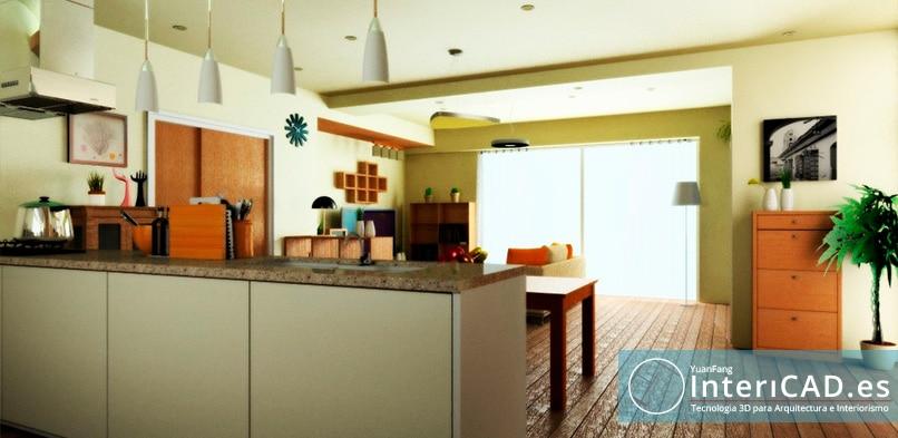 Diseño de un Apartamento y su dormitorio