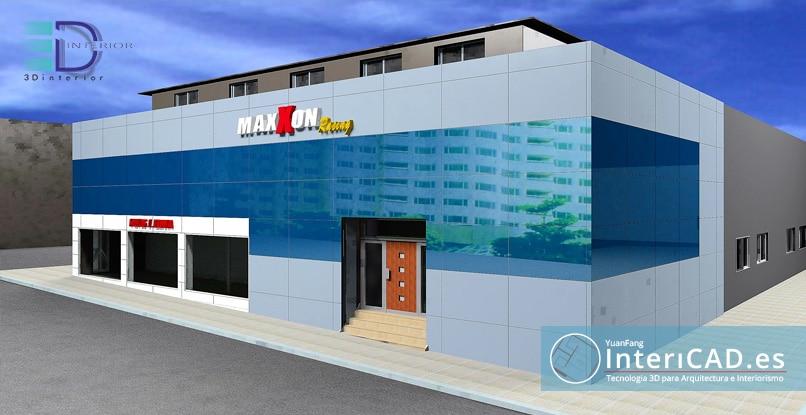 Un exterior creado por 3D Interior