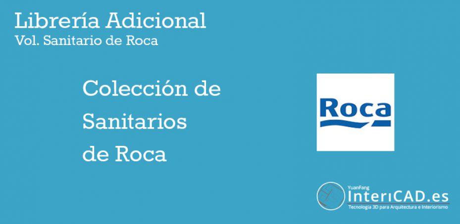 Librerías InteriCAD T6 – Lib Adicional Roca