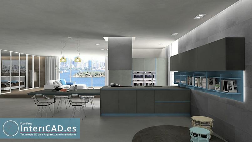 Programa de Diseño de Interiores y Paco Ramallo