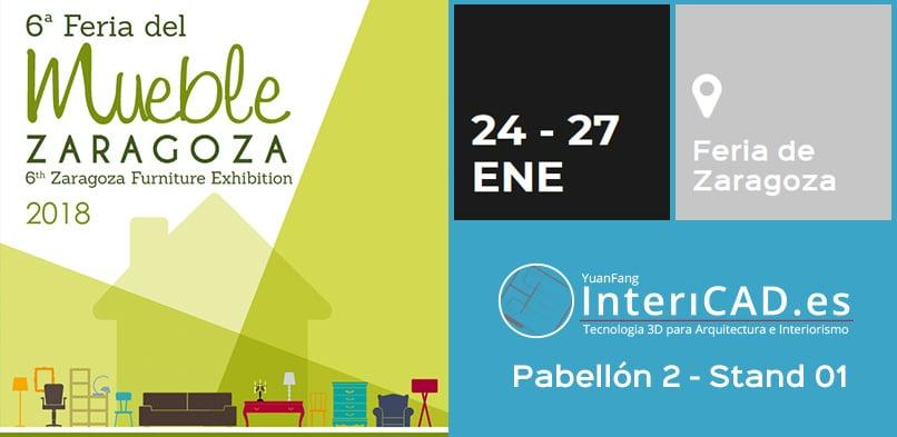 En este momento estás viendo Nos vemos en la Feria del Mueble de Zaragoza 2018
