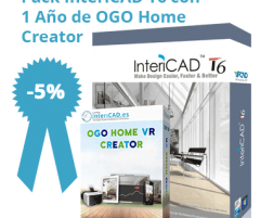 Pack InteriCAD T6 + 1 Año de OGO Home