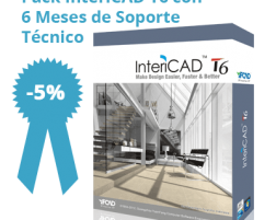 Pack InteriCAD T6 + Soporte 6 Meses
