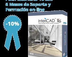 Pack InteriCAD T6 + Soporte 6 Meses + Formación