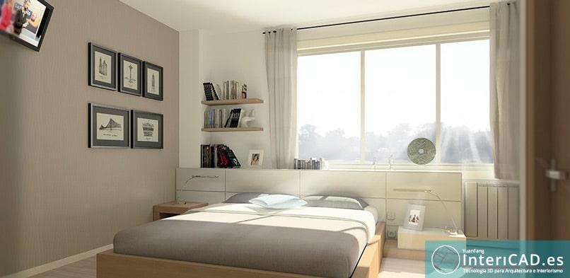 Diseños creados con InteriCAD Dormitorio