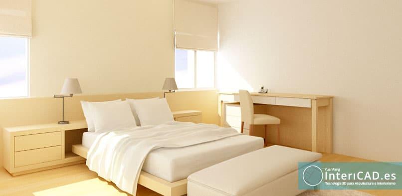 Proyecto creado con InteriCAD Dormitorio