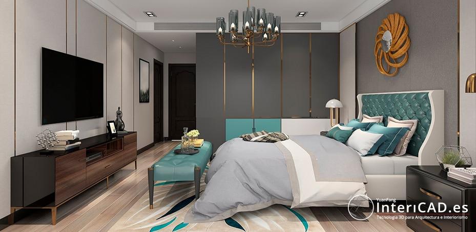 Proyectos Contract de habitación de hotel
