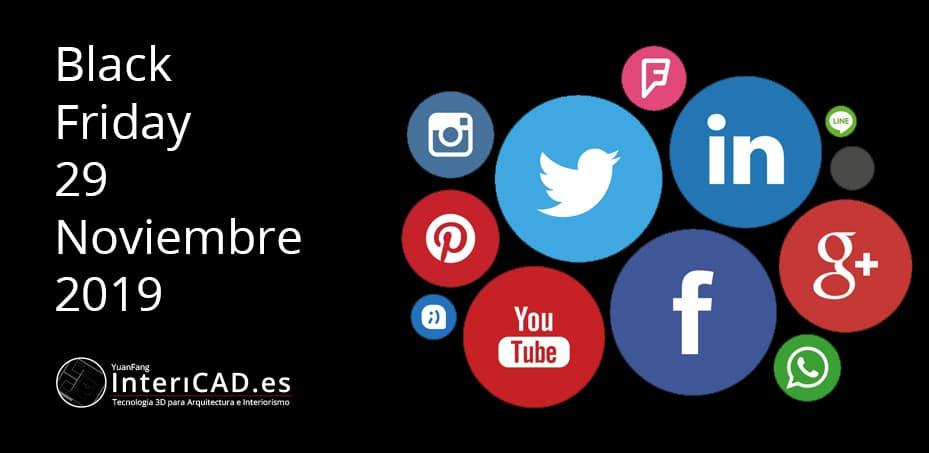Black Friday en Redes Sociales, comparte y gana!