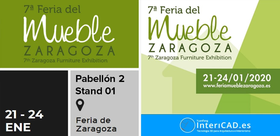 Nos vemos en la Feria del Mueble de Zaragoza 2020