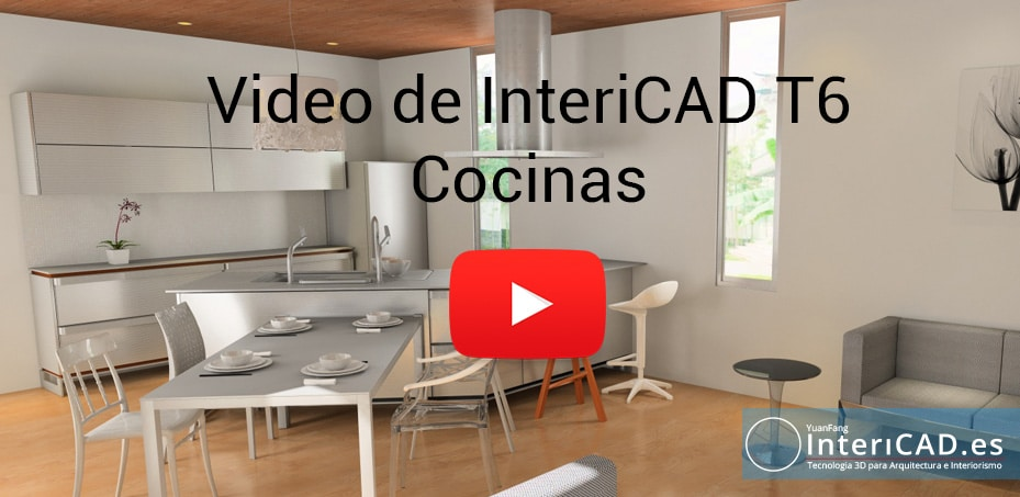 Video InteriCAD T6 Cocinas Completo