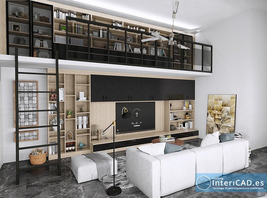 InteriCAD T6, El programa de decoración