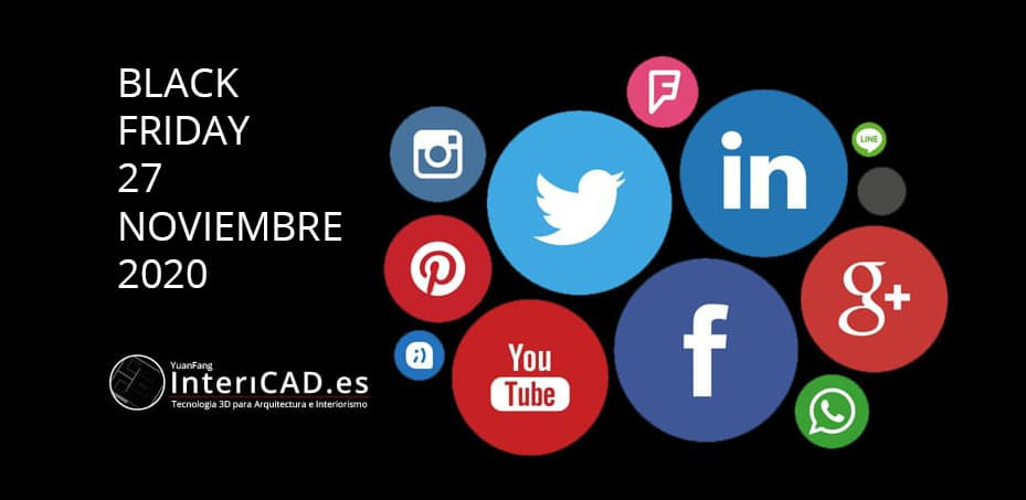 Black Friday en Redes Sociales, comparte y gana!