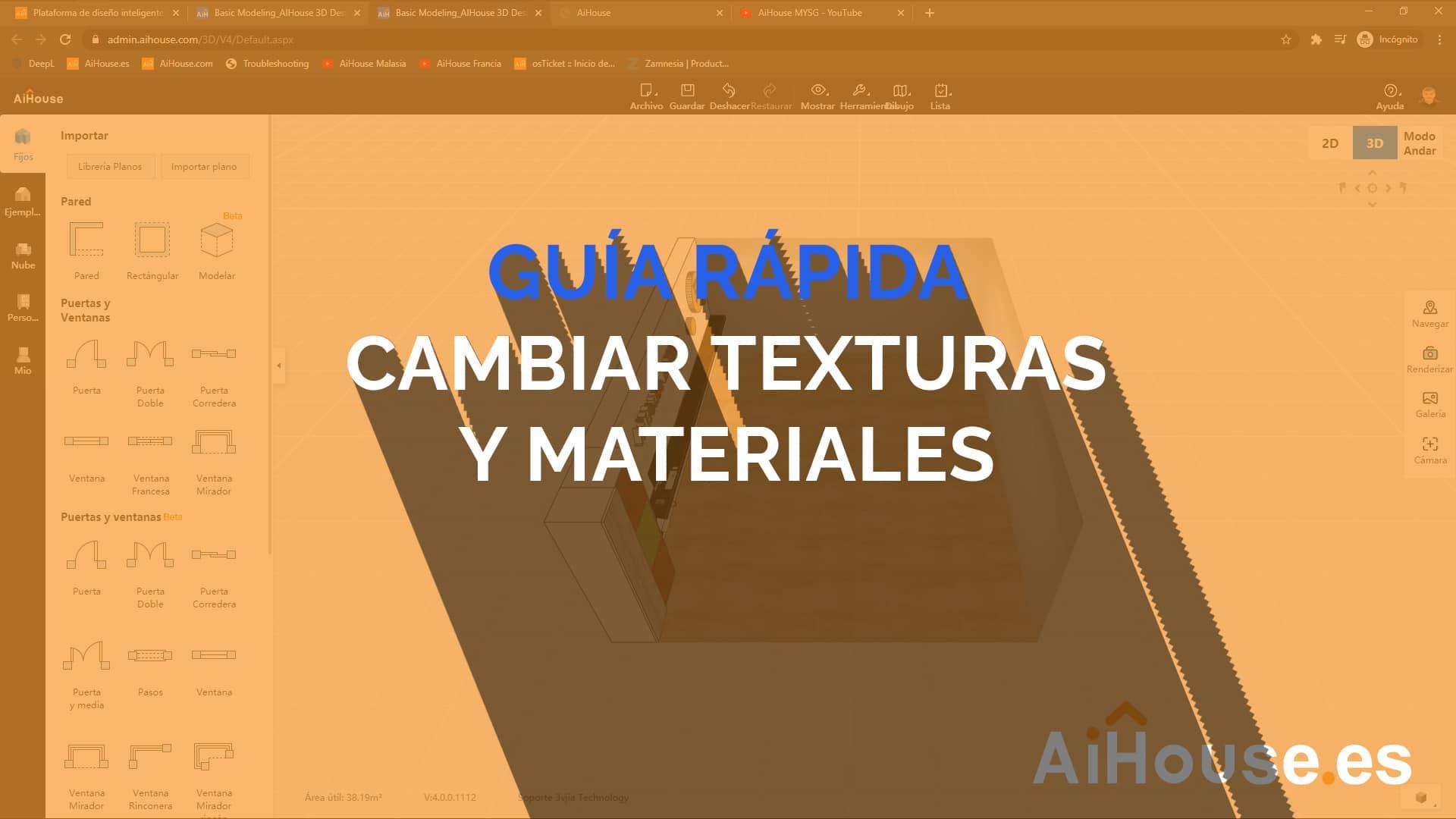 En este momento estás viendo Video – Cambiar Texturas y Materiales