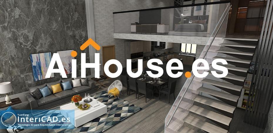 Nuevo programa de diseño 3D AiHouse