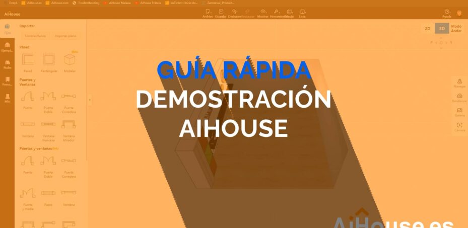 Video de Guía Rápida de uso, aprende AiHouse