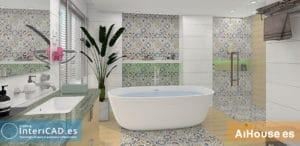 Lee más sobre el artículo Como crear un baño con AiHouse