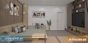 Lee más sobre el artículo Tutorial – Crear habitación de matrimonio con tatami